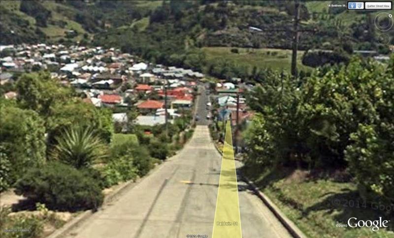 Baldwin Street : la rue la plus pentue du monde, Dunedin - Nouvelle Zélande Bad110