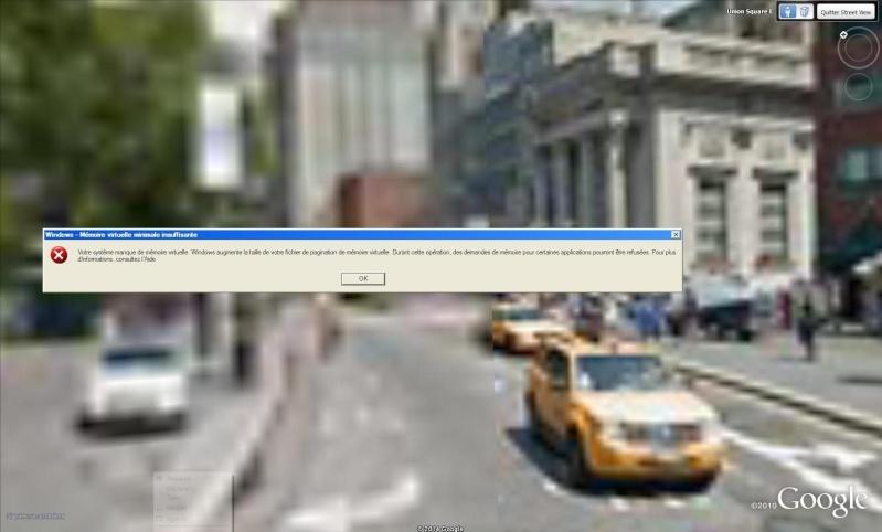 [Résolu] Google Earth se bloque en mode Street View : New York, Los Angeles, Paris sont touchés Bleme10