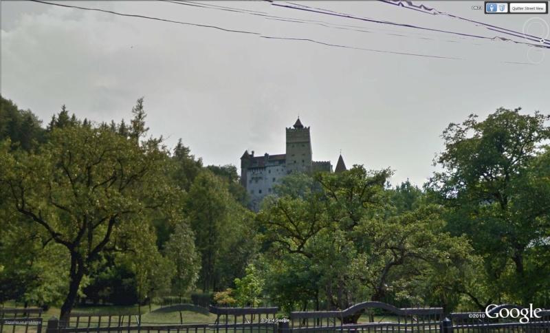 Les châteaux de Dracula repérés dans Google Earth Bran11