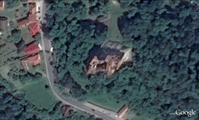 Les châteaux de Dracula repérés dans Google Earth Bran211