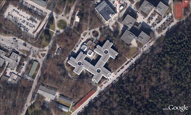 Les services secrets dans le monde épiés avec Google Earth Bun310
