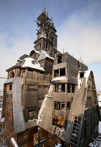 Cabane Du Monde la plus grande cabane en bois du monde, arkhangelsk - russie