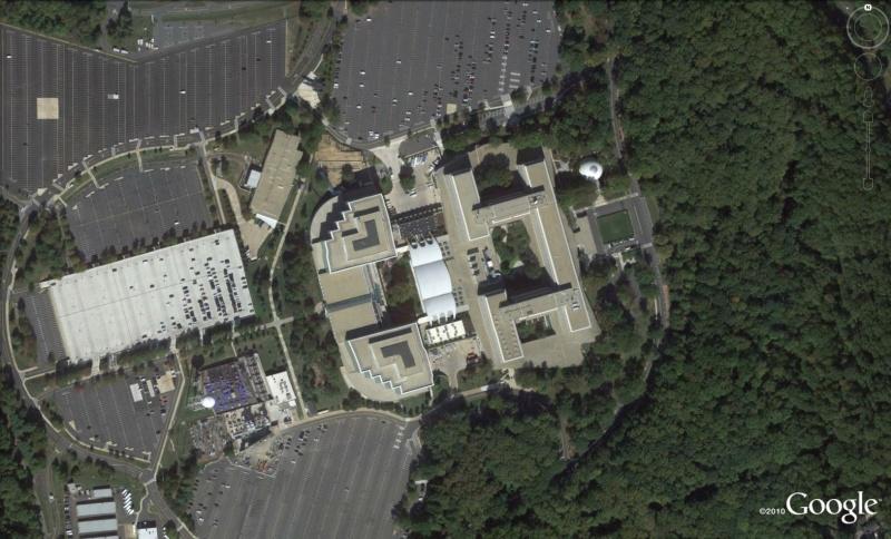 Les services secrets dans le monde épiés avec Google Earth Cia310
