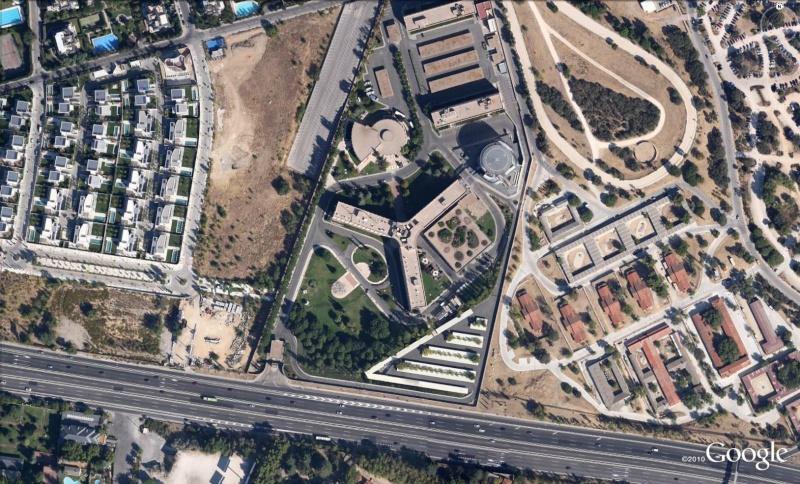 Les services secrets dans le monde épiés avec Google Earth Cn210