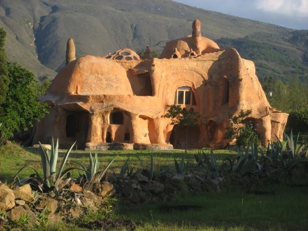 Maison en terre cuite villa leiva ou leyva colombie - Maison en terre cuite ...