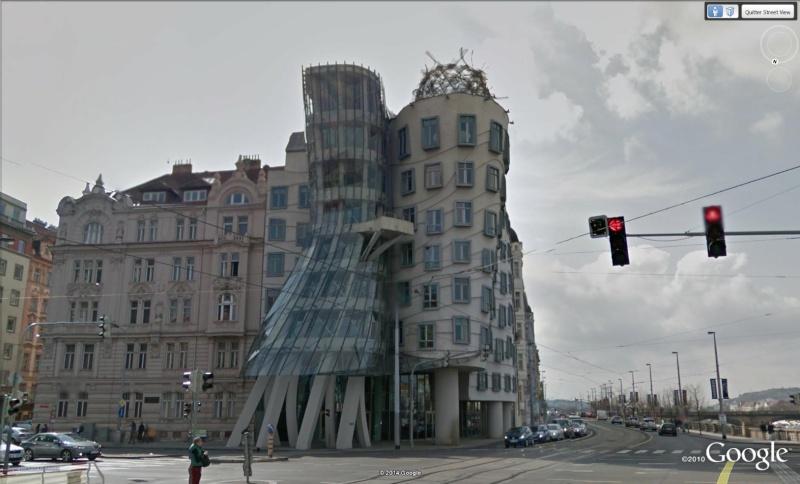 Dancing House (la maison dansante), Prague, République Tchèque (Frank Gehry) Dec110