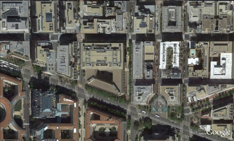 Les services secrets dans le monde épiés avec Google Earth Fb310