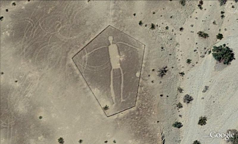 Les géoglyphes découverts avec Google Earth Geo410