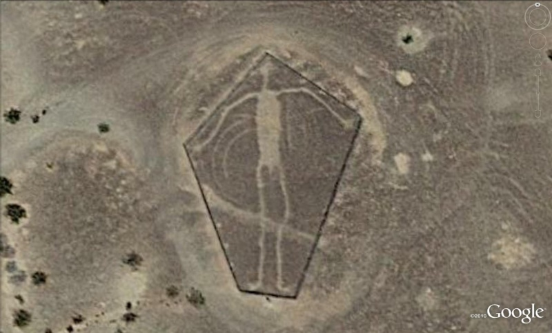 Les géoglyphes découverts avec Google Earth Geo710