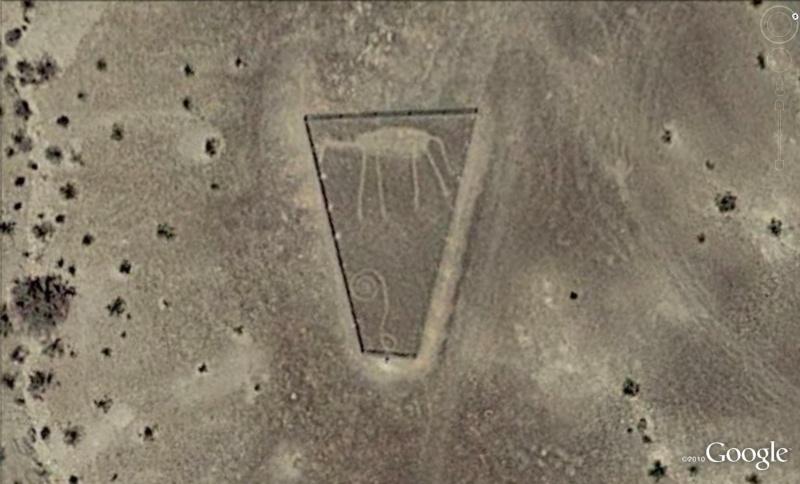 Les géoglyphes découverts avec Google Earth Geo810