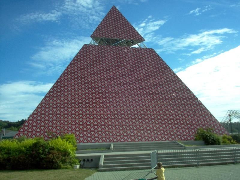 Pyramide des Ha! Ha!, la Baie, Québec - Canada Ha110