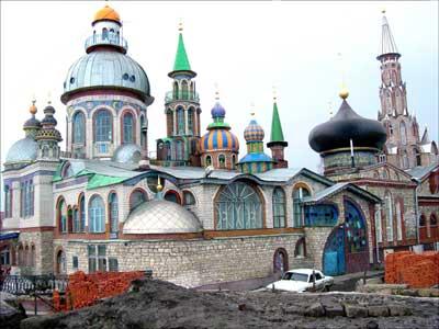 La Cathédrale de Kazan, Tatarstan - RUSSIE Kaz110