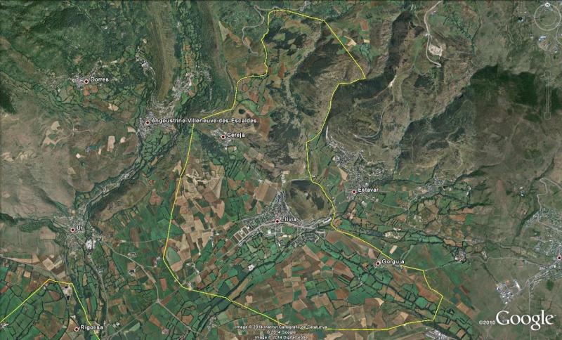 Enclave espagnole de Llivia - France Lli10