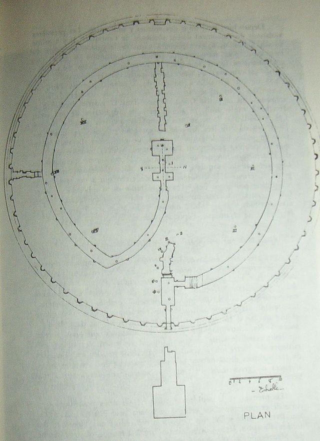 Tombeau de la chrétienne Tipasa Algérie Medra210