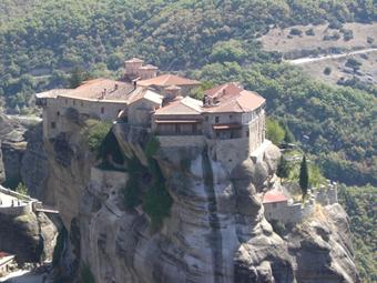 Monastères des météores, Thessalie - Grèce Meteor11