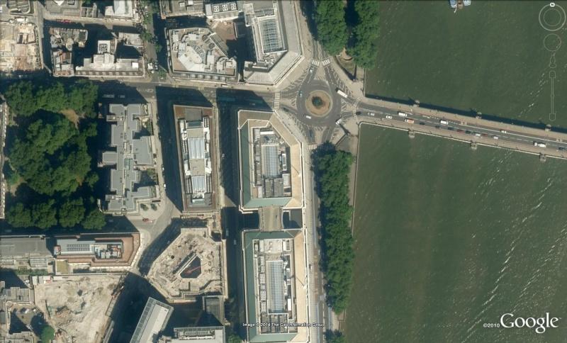 Les services secrets dans le monde épiés avec Google Earth Mi5210