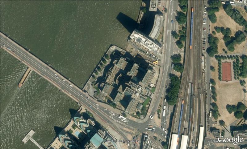 Les services secrets dans le monde épiés avec Google Earth Mi6110