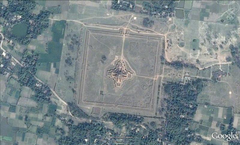 Monastère Vihara Paharpur Bengladesh Mona10
