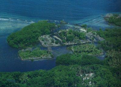 Nan Madol, ancienne capitale des Saudeleurs, Ile Ponape (ou pohnpei) - Micronésie Nan210