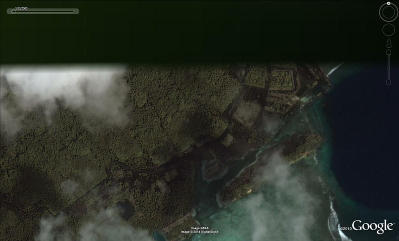 Nan Madol, ancienne capitale des Saudeleurs, Ile Ponape (ou pohnpei) - Micronésie Nan610