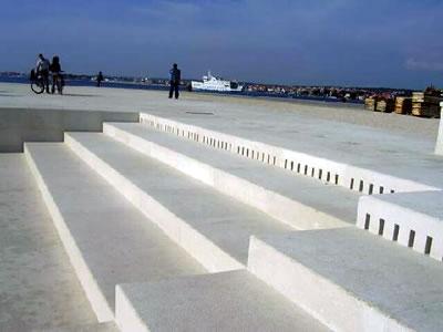 Orgue maritime à Zadar - Croatie Org211