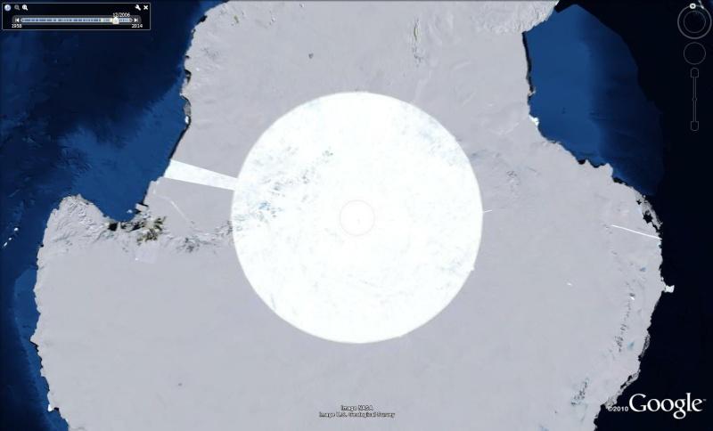 Le Pôle sud, Antarctique Pole210