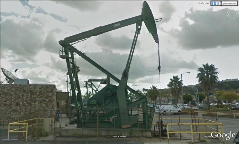 Puits de pétrole à Los Angeles, Californie - USA Puit210