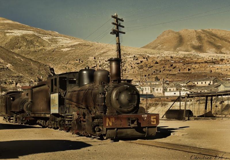 Ancienne cité minière de Pulacayo - Bolivie Pul211