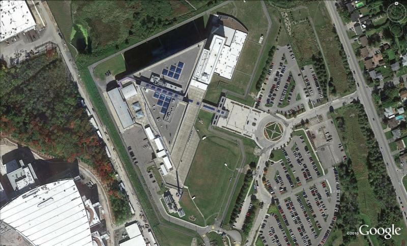 Les services secrets dans le monde épiés avec Google Earth Sc310