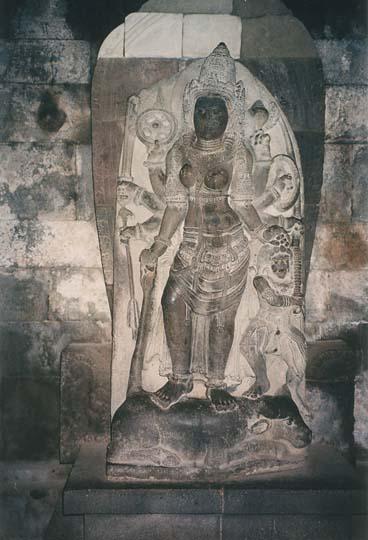 L'ensemble de Prambanan, Kalasan, Yogyakarta, Indonesie Shi10