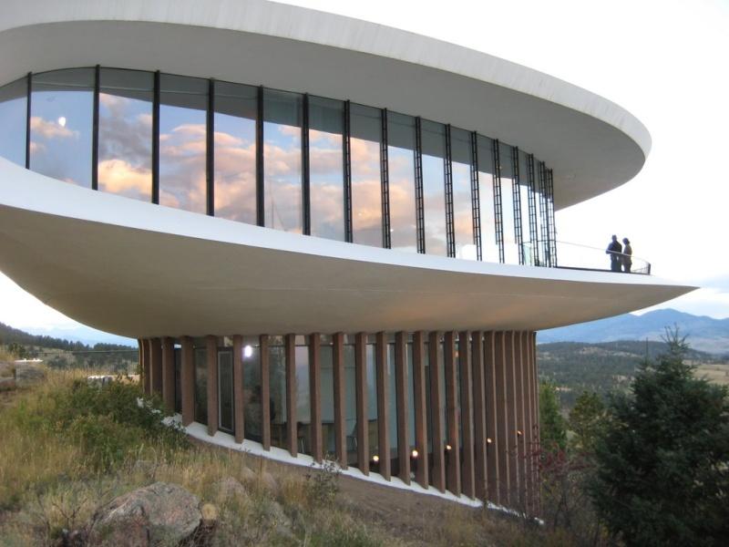 Les bâtiments en forme de soucoupes volantes Sle10