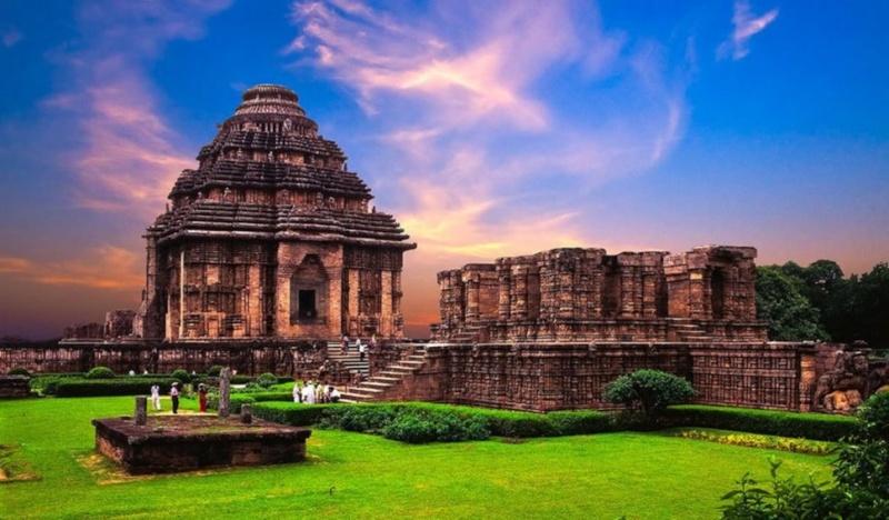 Temple du soleil Konark Orissa Inde Sol110