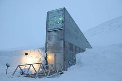 Réserve mondiale de semences du Svalbard - Norvège Sva211