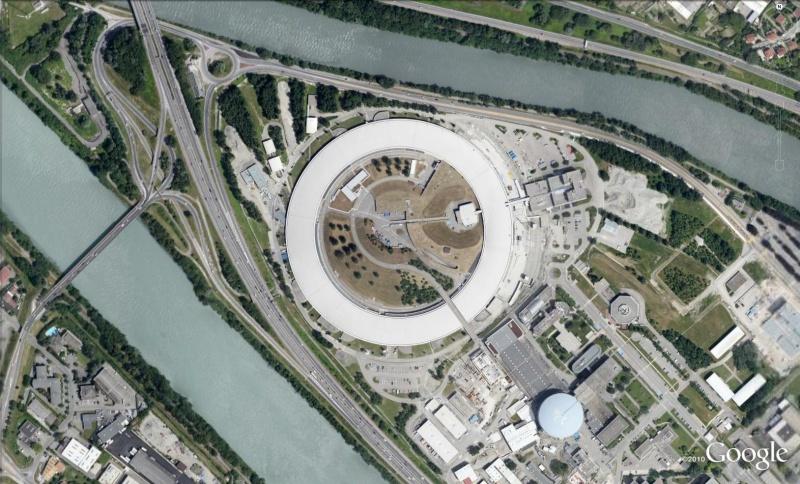 Synchrotron de Grenoble, Isère -  France Syn10