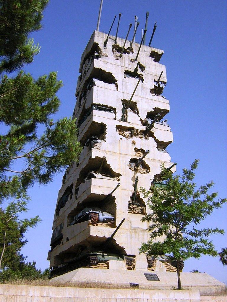 """Monument """"Espoir de paix"""" à Beyrouth - Liban T110"""