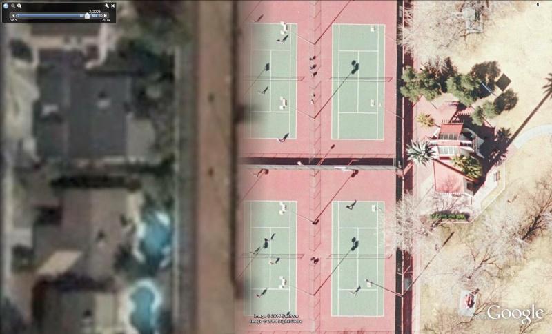 Matchs de tennis en HD à Las Vegas, Nevada - USA Ten10
