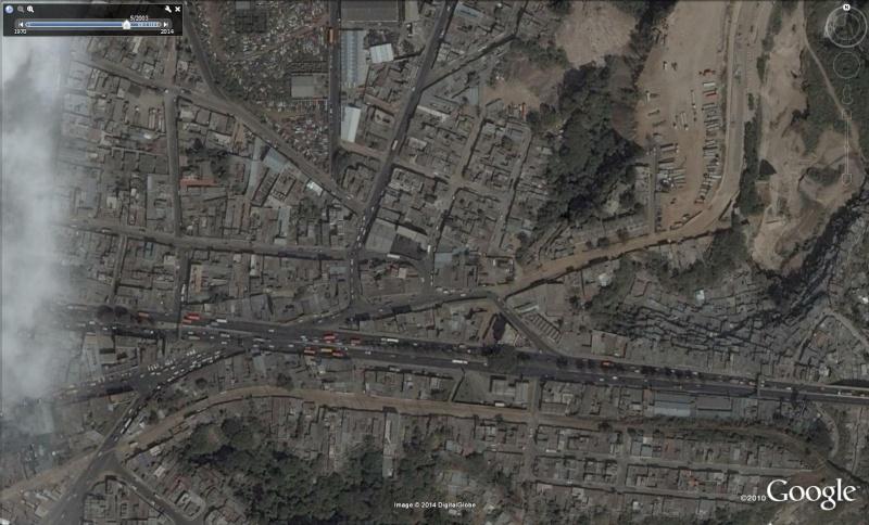 Trou géant à Guatemala City - Guatemala Trou110