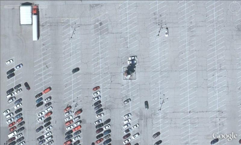Spindle (brochette de voitures), Berwyn, Illinois - USA Voi210