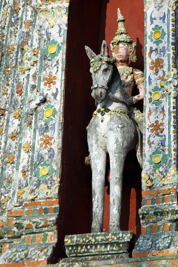 Temple de l'aube ou Wat Arum Bangkok Thaîlande Wat210