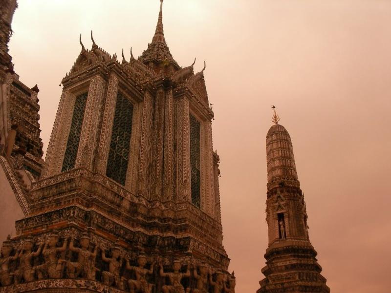 Temple de l'aube ou Wat Arum Bangkok Thaîlande Wat310