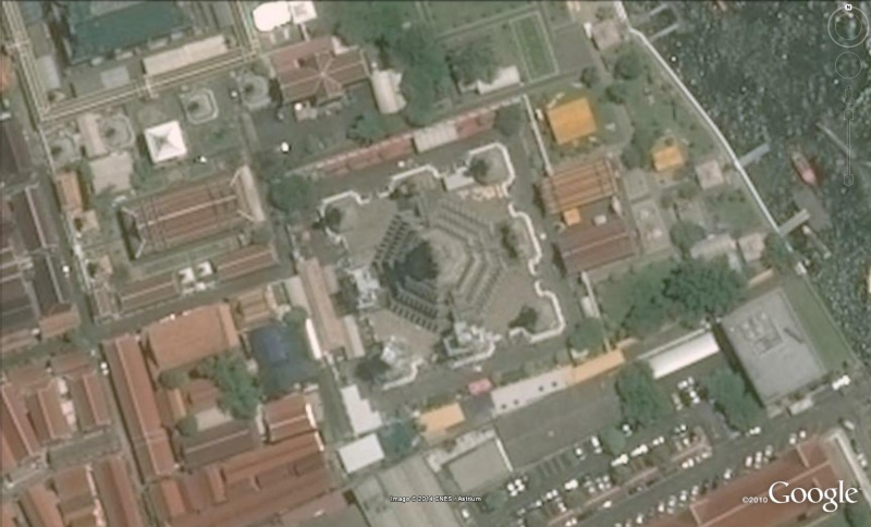 Temple de l'aube ou Wat Arum Bangkok Thaîlande Wat410