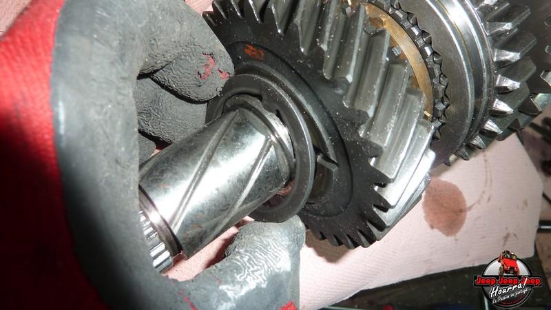 Demontage Borg Warner T5 [BV CJ7 DIESEL/2.0L ESSENCE] P1120120