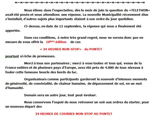 24h du Pontet ; Téléthon 2014 24hpon11