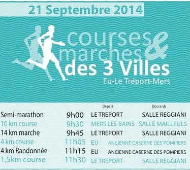 14 km des 3 Villes; Le Tréport (76) 21 septembre 2014 3ville10