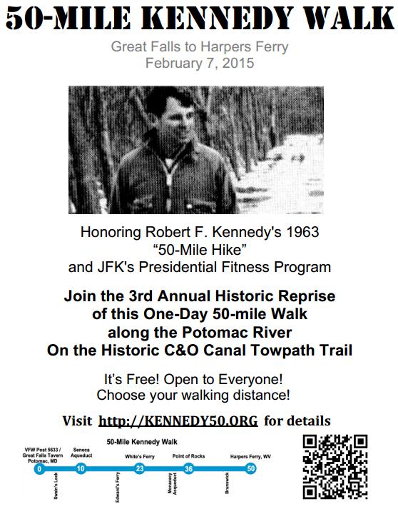 50 mile Kennedy, parcours historique 1963 : 7 février 2015 50_mil10