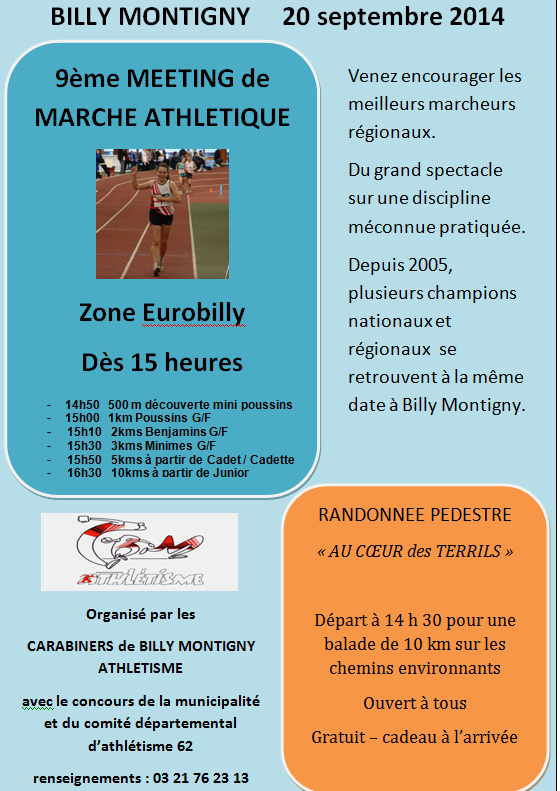 Meeting de Billy-Montigny (62); (10km): 20/09/2014 Billy_11