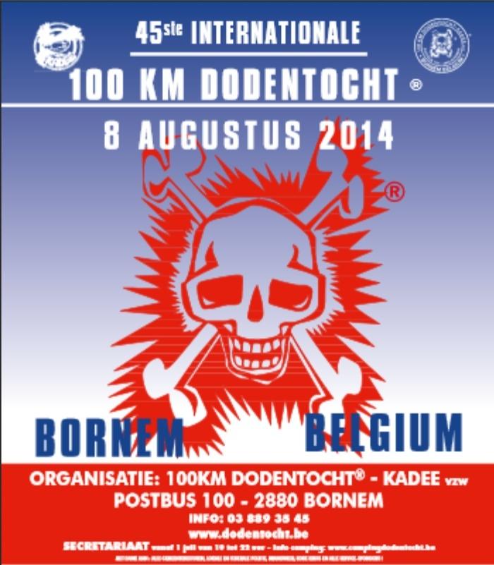 11000 marcheurs! 100 km Dodentocht: 8-09 août 2014 Dt_20111