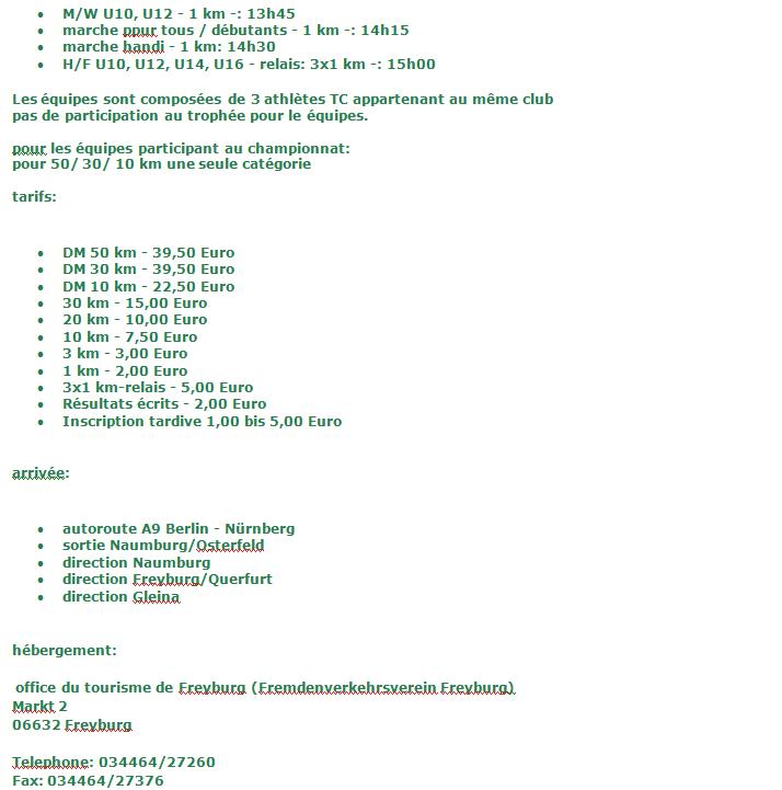 50km chpt All., 30km vét M, 20km, etc; Gleina(D): 11/10/2014 Gleina13