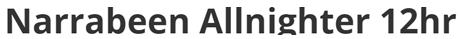Narabeen Allnighter (Aus), 12h/6h nocturnes: 03-04/01/2015 Narabe10