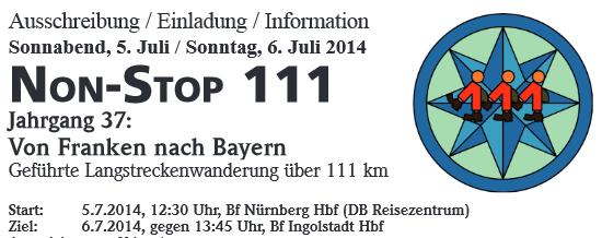 Non-Stop 111: Nuremberg-Ingolstadt(D): 5/6 juillet 2014 Non-st10